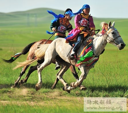 梦见姐姐骑马奔跑