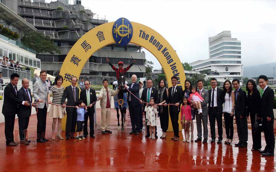 中国香港赛马皇太后纪念杯现场盛况
