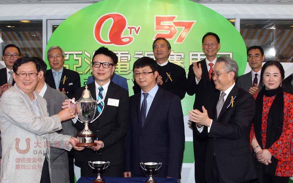 香港赛马亚洲电视杯ATV CUP现场图片集锦