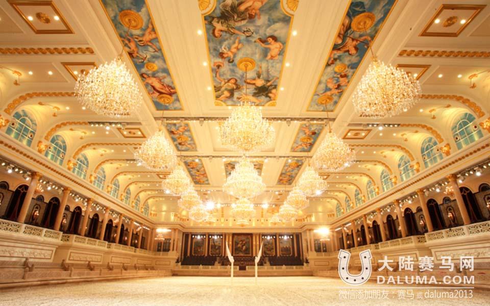 走进中国最大室内马术比赛场馆 媲美奥匈帝国皇家宫殿式