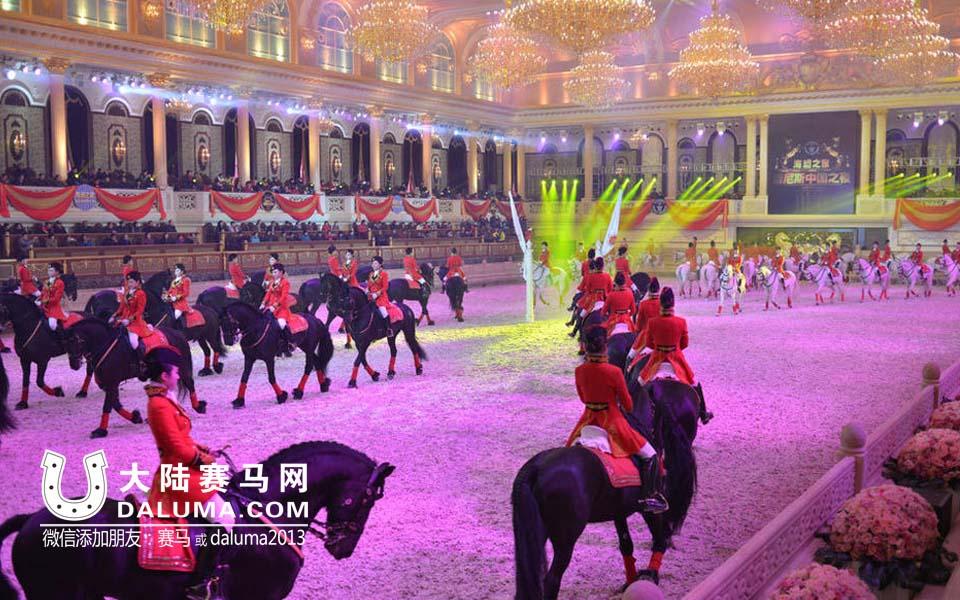 江苏海澜国际马术俱乐部60位美女骑师创吉尼斯世界纪录