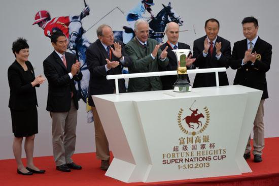 2013富国高银超级国家杯马球赛香港胜英格兰夺冠